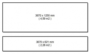 Marlan solid surface plaatmateriaal in vier diktes