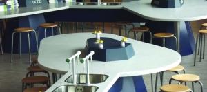 Solid surface is de oplossing voor scheikundelokalen