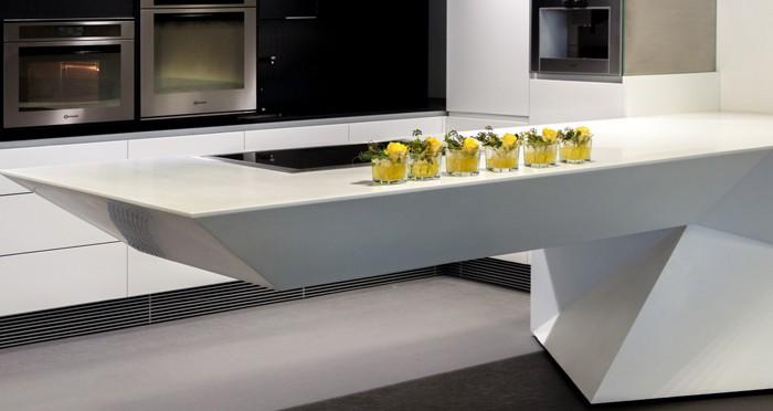 Keukenblad van solid surface