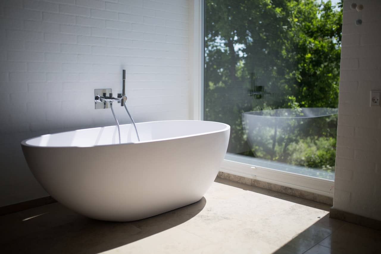 Duurzame badkamer met solid surface