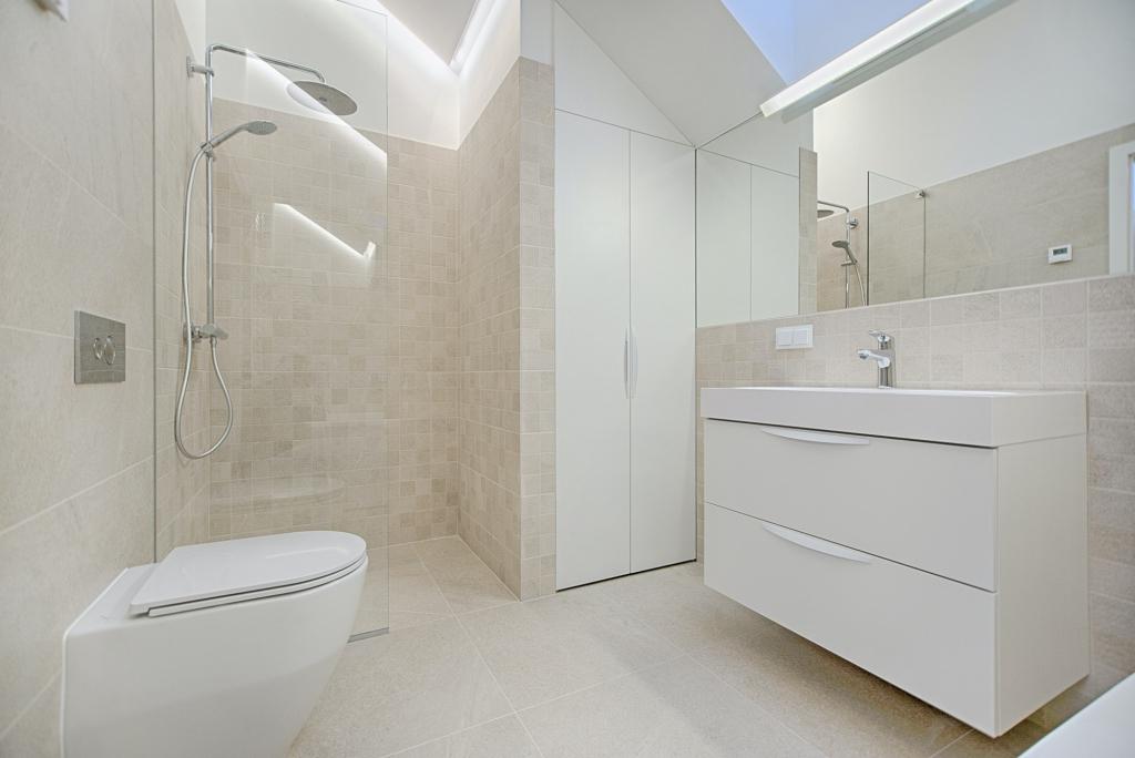 led verlichting in badkamer